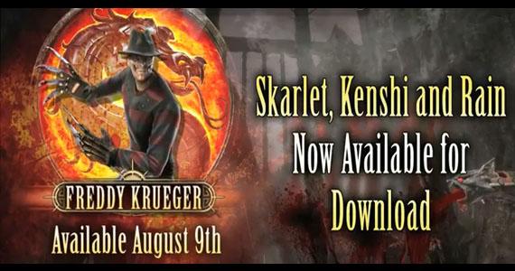 Freddy Krueger Mortal Kombat