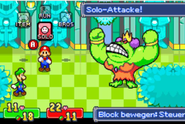 Mario e Luigi Superstar Saga analise