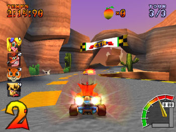 Crash Team Racong Real