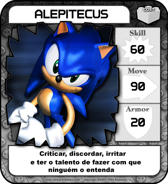 Equipe Noobz Games: Alepitecus