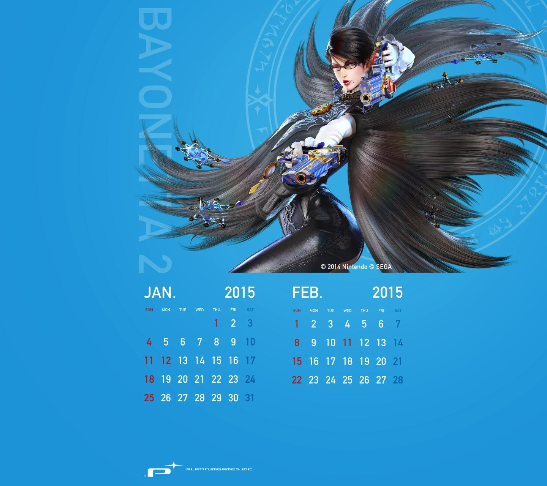 calendario Bayonetta