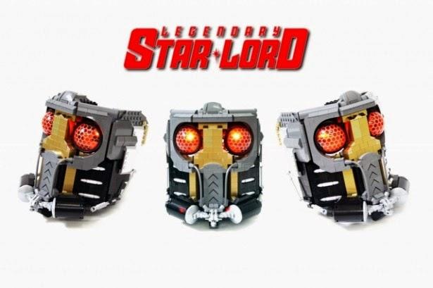 star lord lego guardioes da galaxia