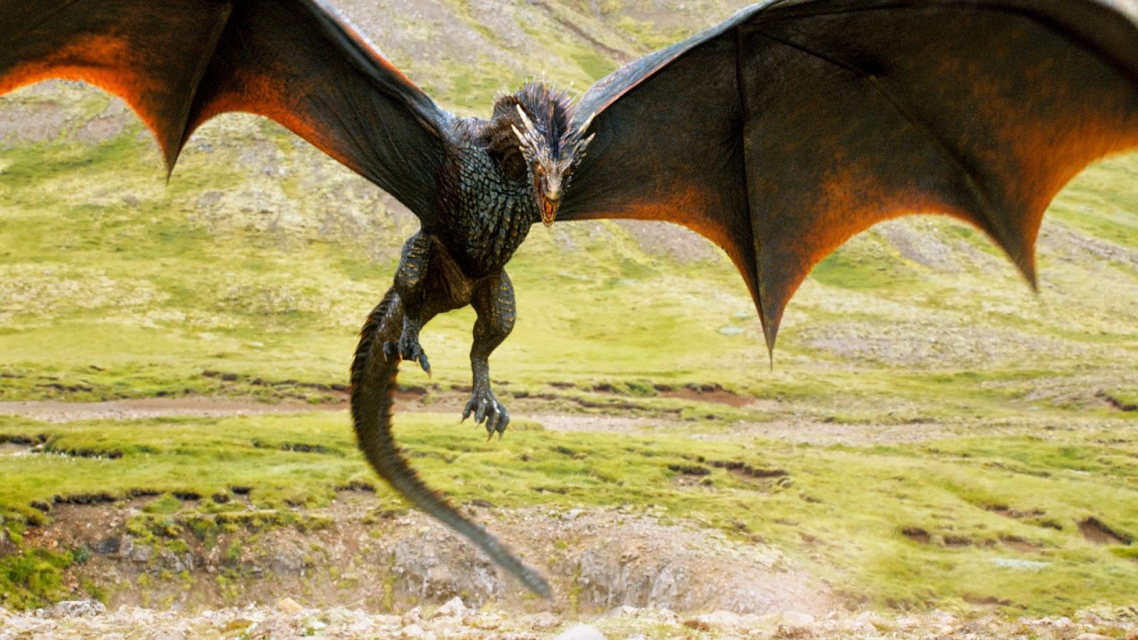 Game of Thrones Dragões