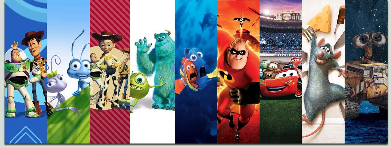 filmes Pixar