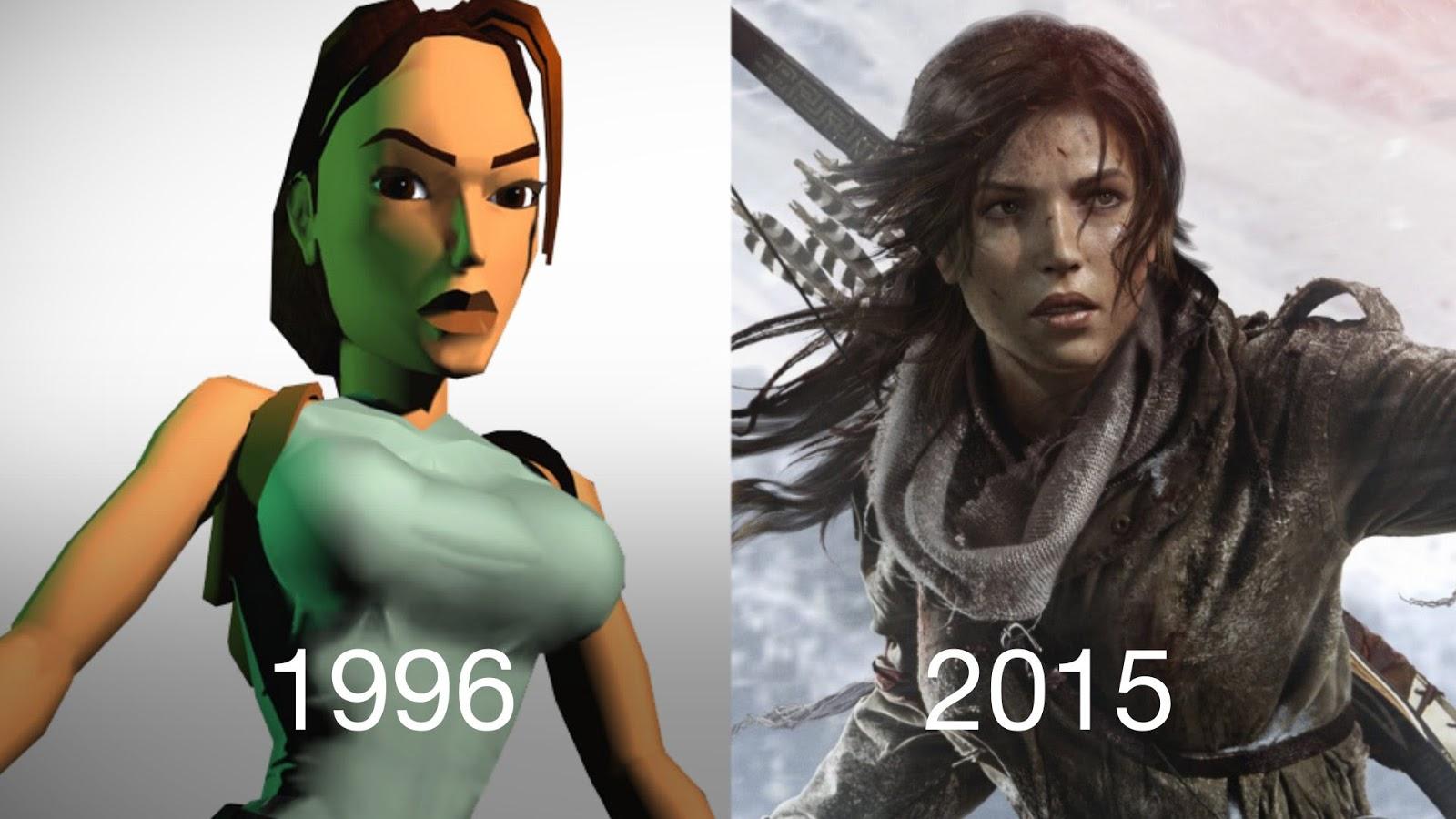 Games antes e depois