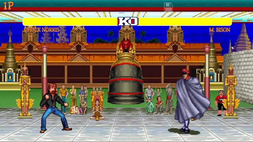 Chuck Norris vs Street Fighter