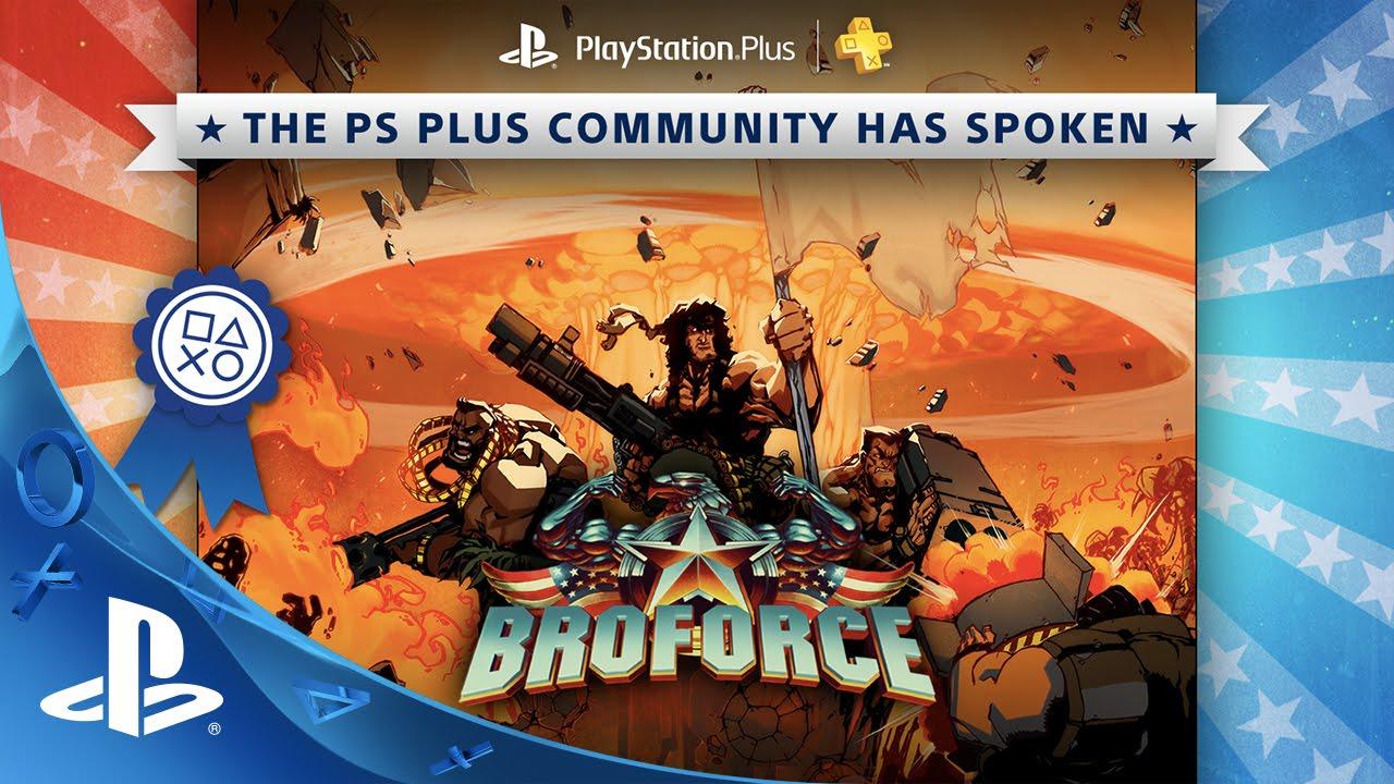 Broforce game