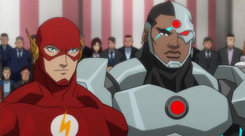 The Flash Ciborgue DC