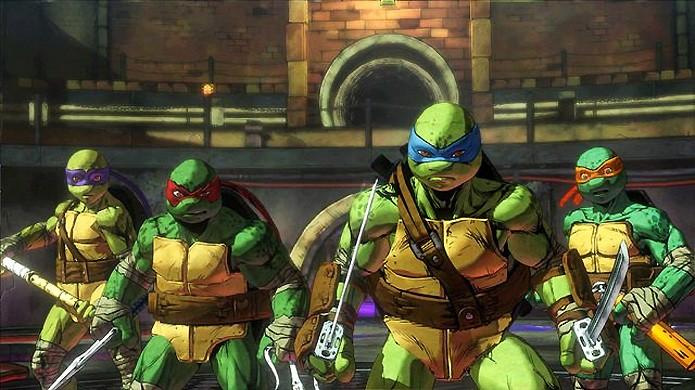 Tartarugas ninja Tartarugas Ninja chamado Teenage Mutant Ninja Turtles: Mutants in Manhattan