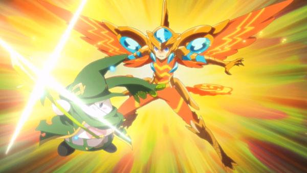 Puzzle & Dragons X anime