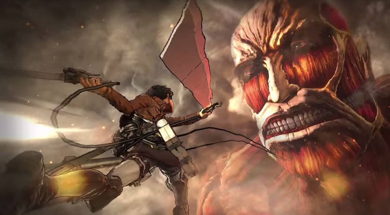 Attack on Titan Wings of Freedom game
