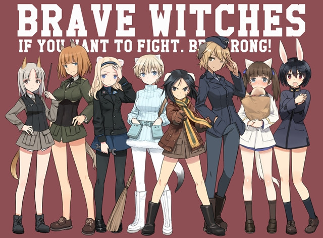 Brave Witches anime
