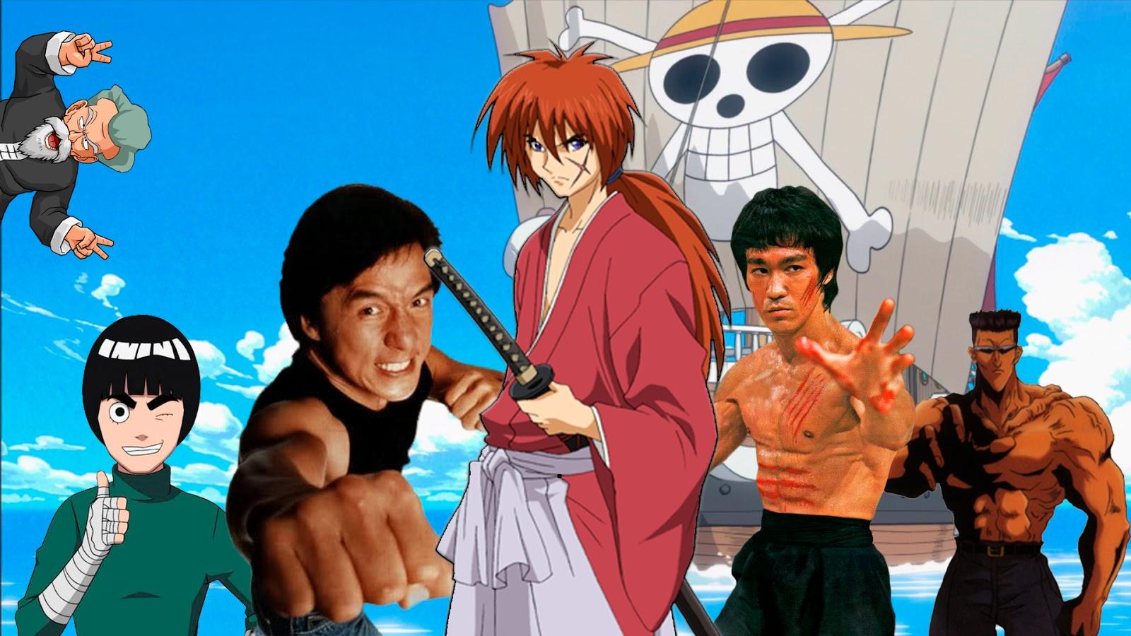 Personagens de Anime inspirados em pessoas reais