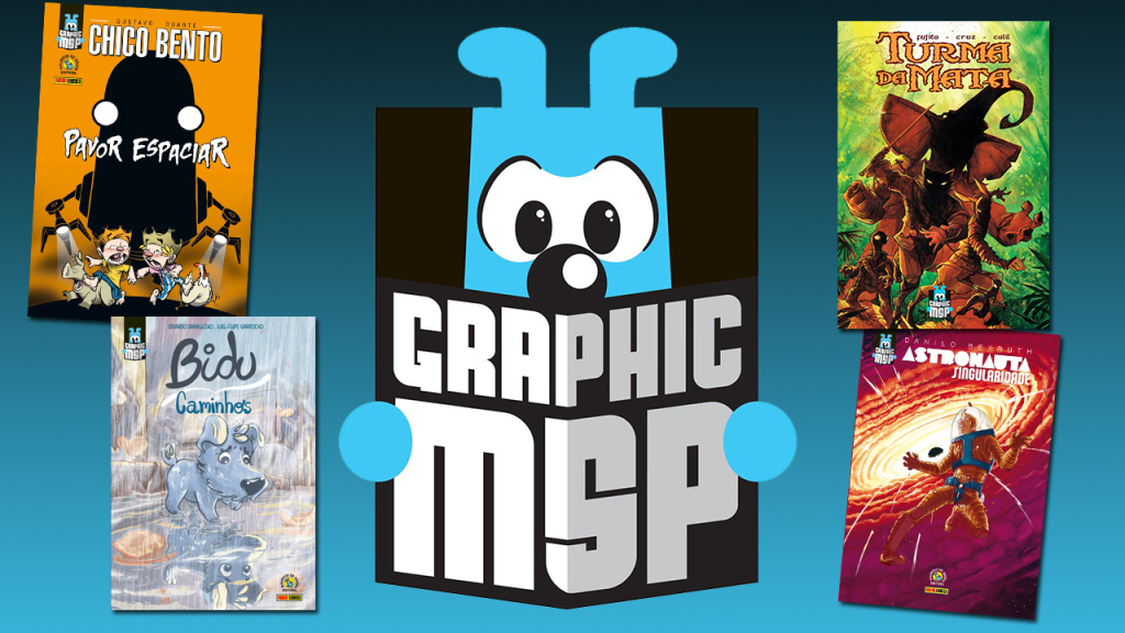 CCXP - Comic Con Experience 2017 graphics MSP