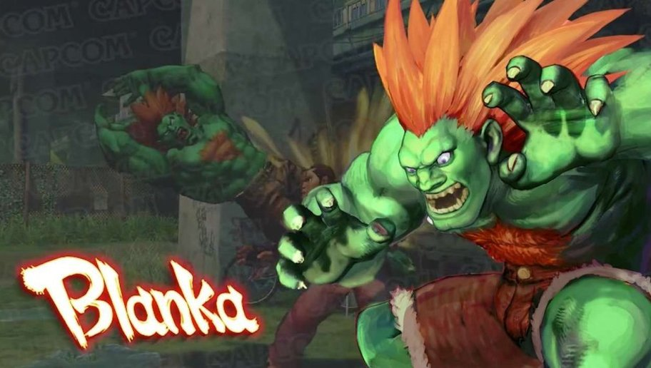 Street Fighter 5: Arcade Edition Blanka