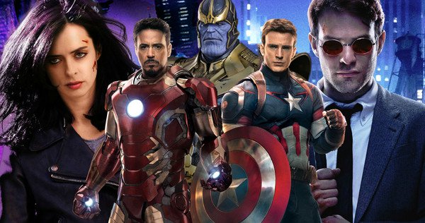Marvel Vingadores Netflix