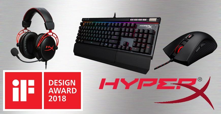 iF DESIGN AWARD 2018 HyperX