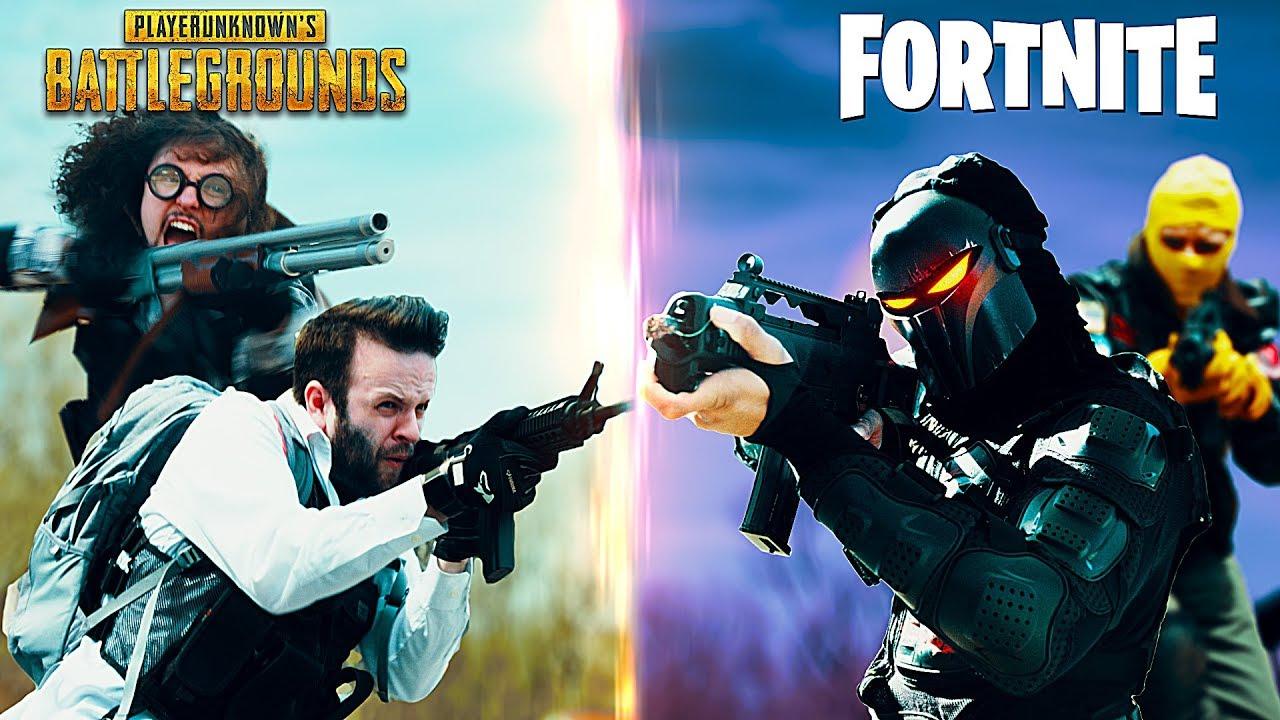 PUGB vs Fortnite
