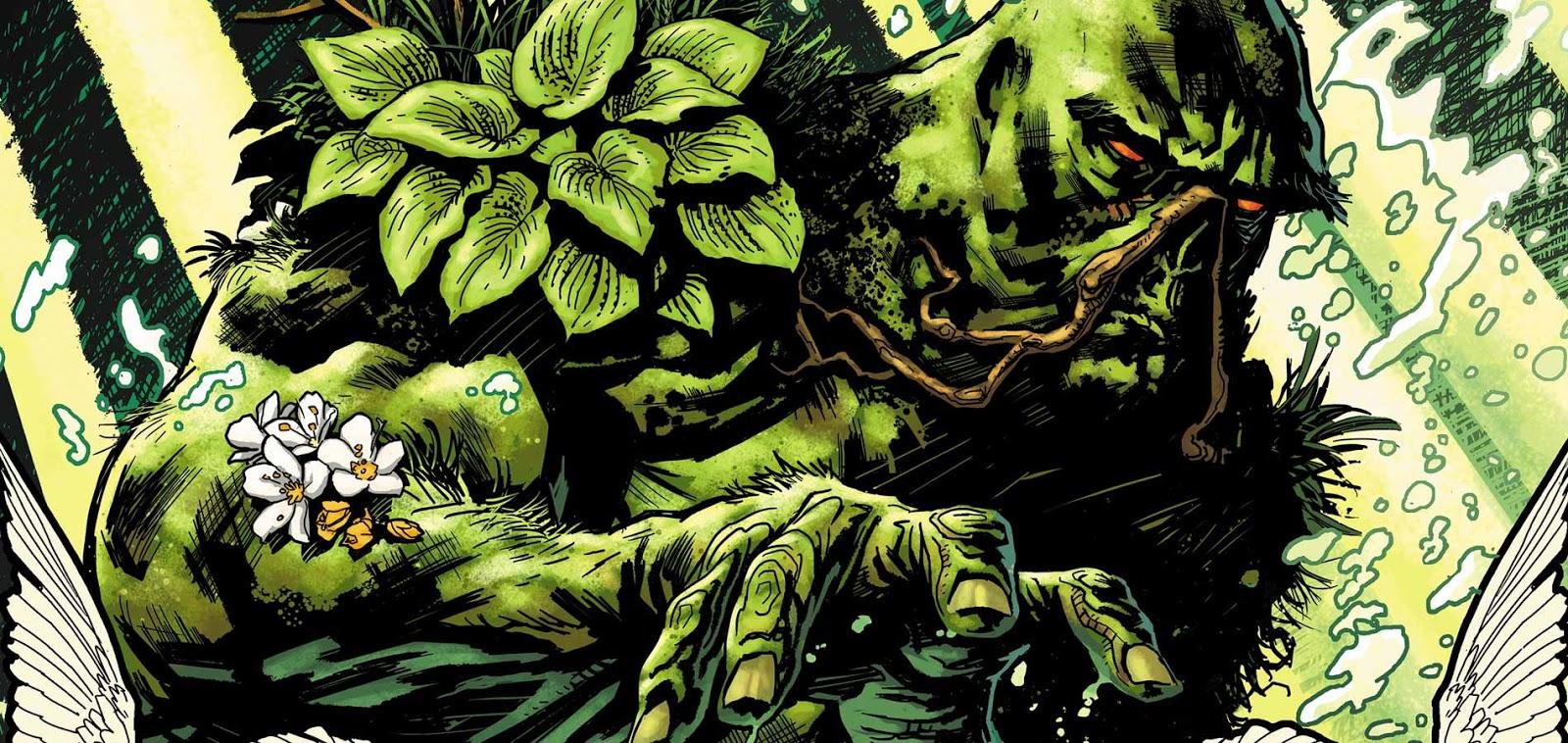 O Monstro do Pântano DC Comics