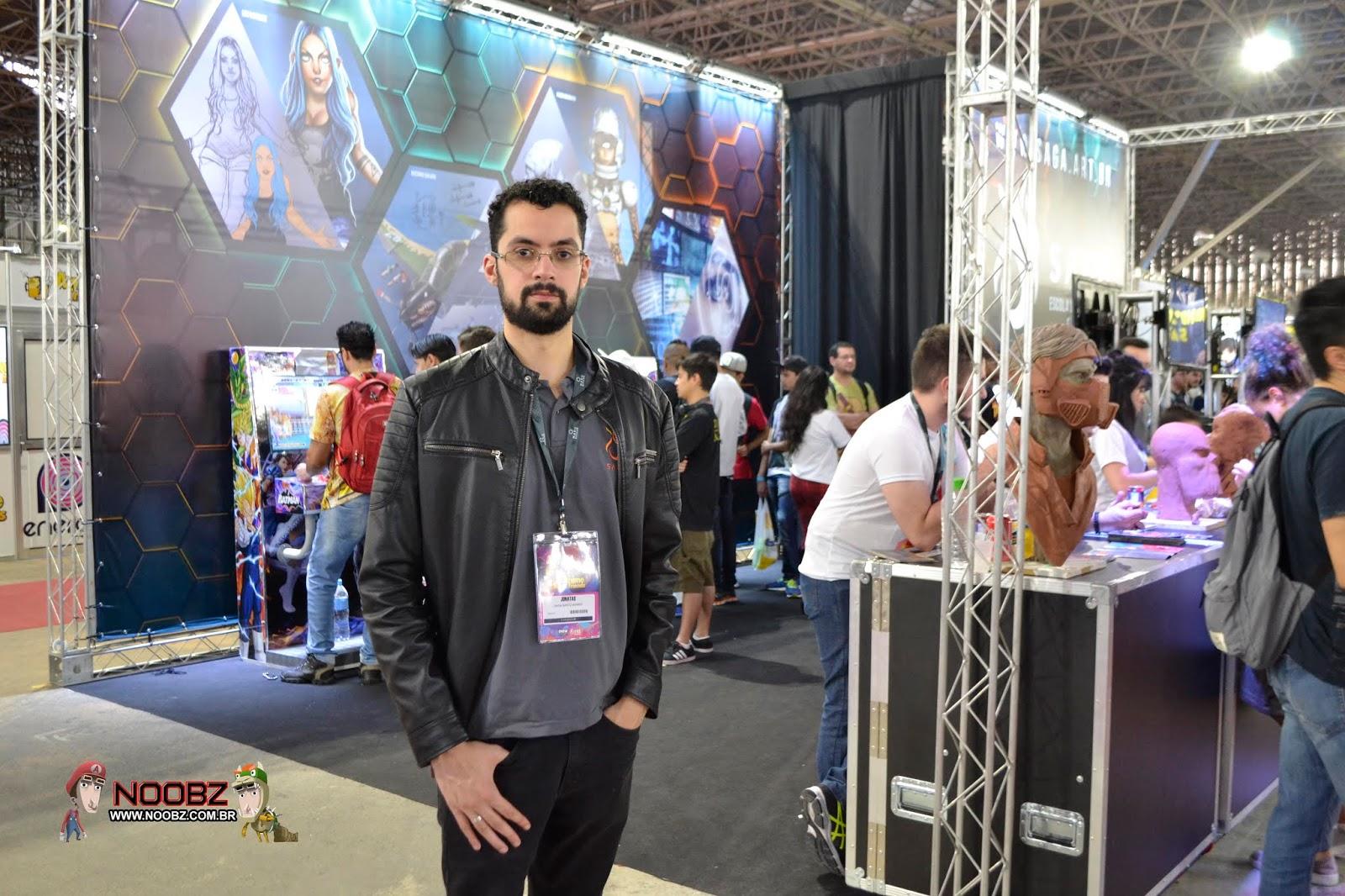 Jonatas Freire - SAGA - Anime Friends 2018 - Entrevista