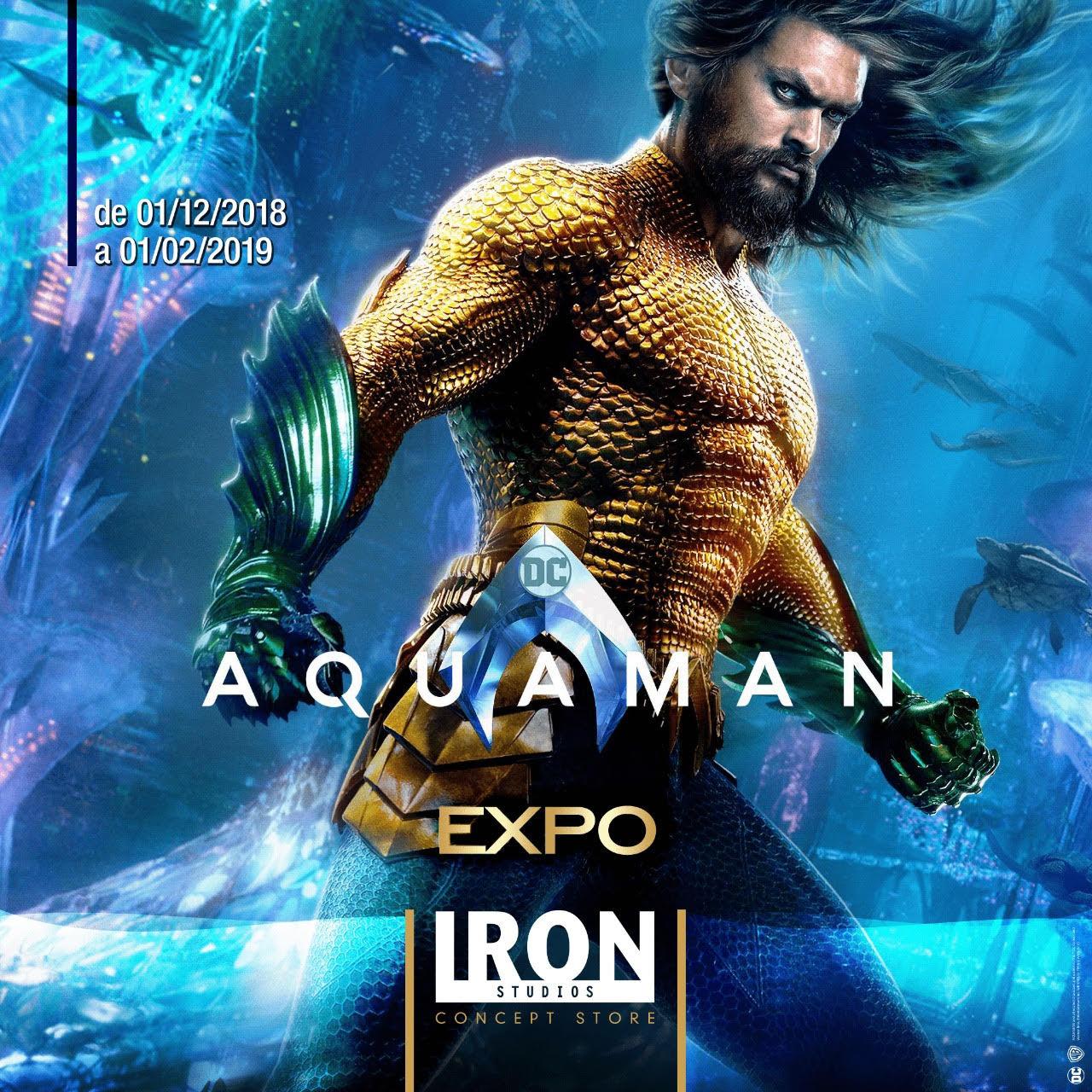 Aquaman Iron Studios