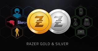 Razer Gold Razer Silver