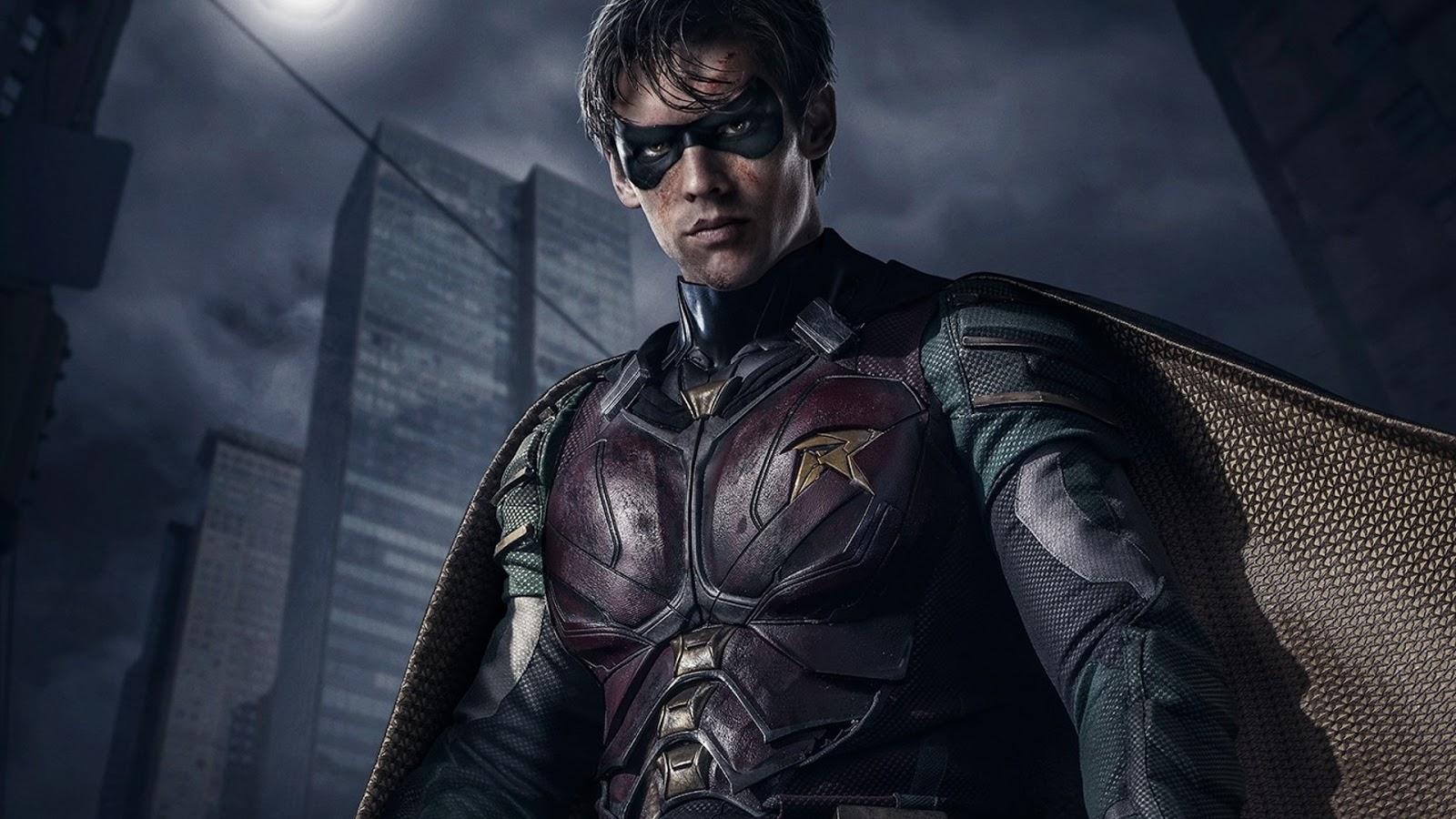 Titans Batman vs Robin