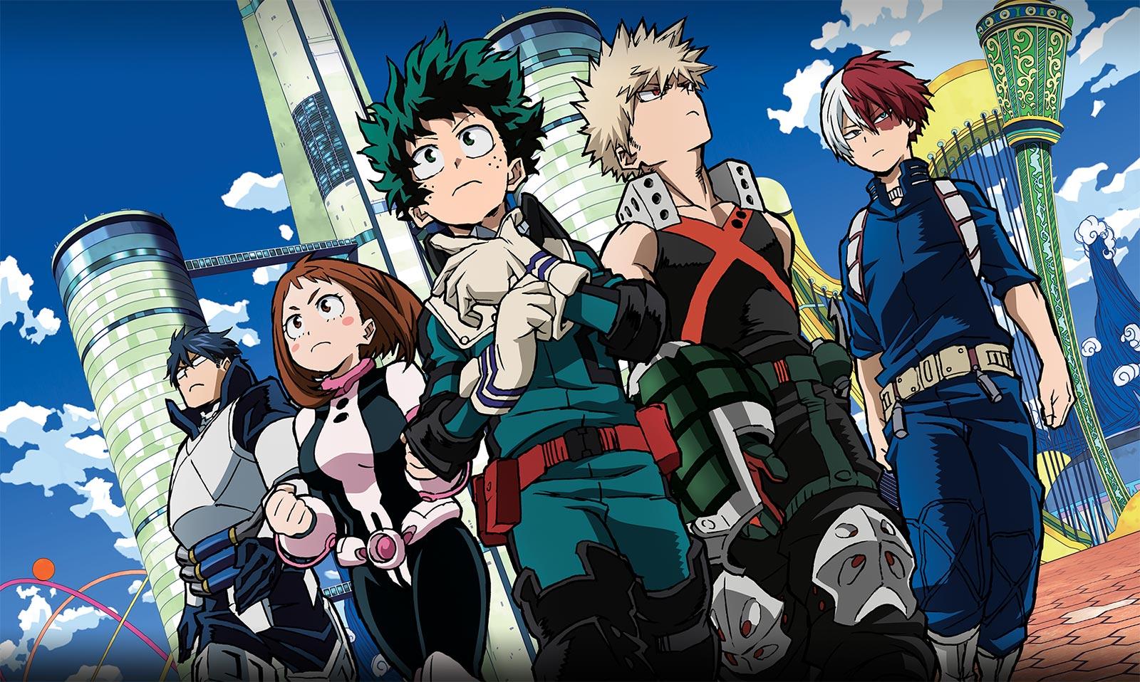 Boku No Hero Academia - Two Heroes