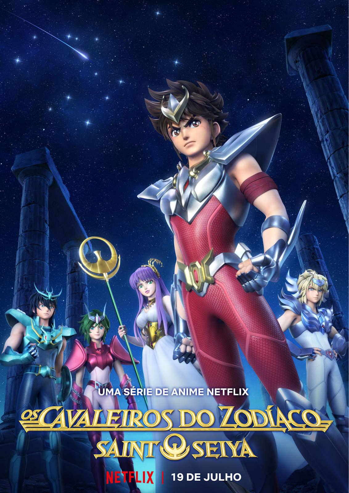 Saint Seiya Cavaleiros do Zodíaco Netflix