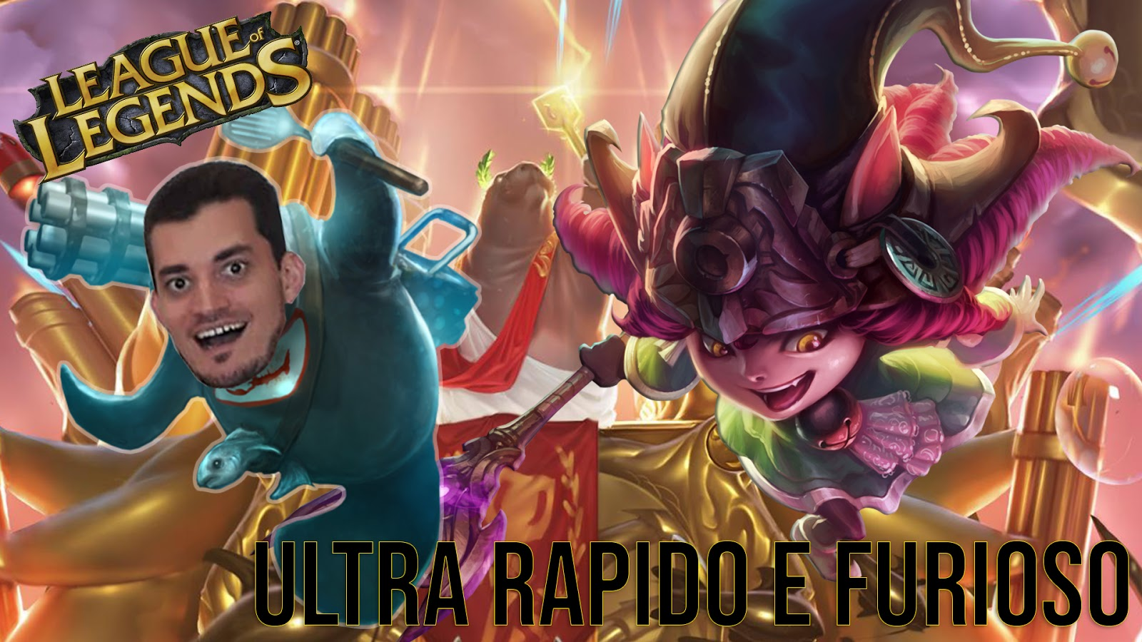 League of Legends URF gameplay