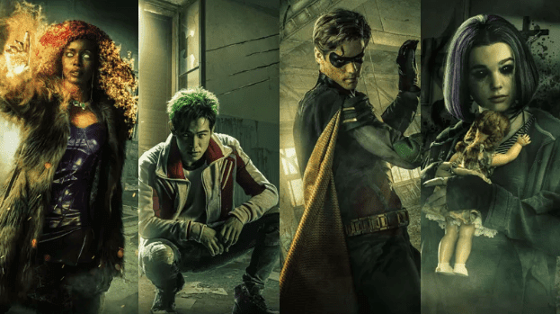 Titãs serie DC