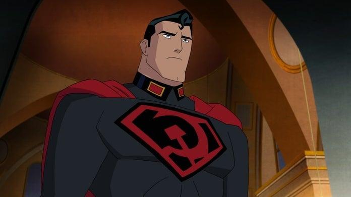 Superman Entre a Foice e o Martelo animação