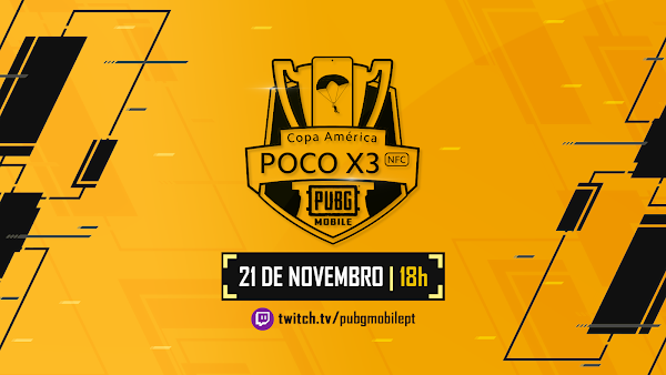 PUBG MOBILE vai realizar a Copa América PocoX3