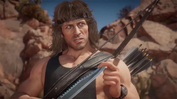 Mortal Kombat 11 Rambo Terminator