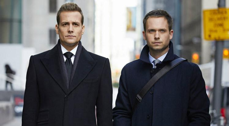 suits harvey specter and mike ross